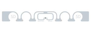 Smartrac ShortDipole RFID Wet Inlay (NXP UCODE G2iM)   3002237