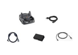 Zebra 1-Slot USB/Charging Cradle Kit for WT4X Computers | CRD4000-110UES