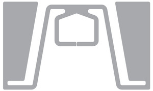 CCRR H61 RFID White Wet Inlay (Monza R6-P) | AN653N101