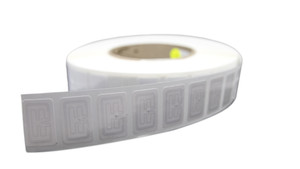 CCRR F62 RFID White Wet Inlay (Monza R6-P) | AN621N100