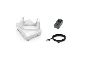 Zebra 1-Slot Charge Cradle Kit for TC21-HC/TC26-HC Healthcare Mobile Computers | CRD-TC2W-BS1CO-01-KIT