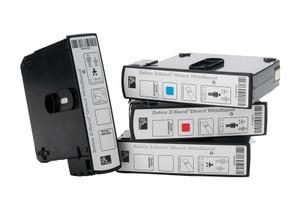 Zebra Z-Band Direct Wristband Cartridge Kit (Case of 6 Cartridges - 200 White Wristbands per Cartridge)   10006995K