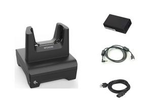Zebra 1-Slot Charging ShareCradle for RFD40 Sled | CRD1S0T-RFD49-UNIV-CHG-1R-KIT