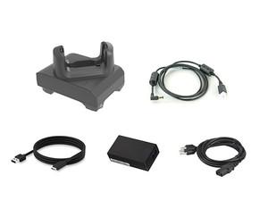 Zebra 1-Slot USB/Charging Cradle Kit for EC50/EC55 Mobile Computers | CRD-EC5X-1SCU-01-KIT