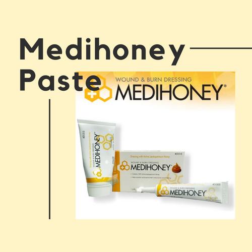 Medihoney Paste, Wound & Burn Care  Leptospermum Honey 0.5oz tube