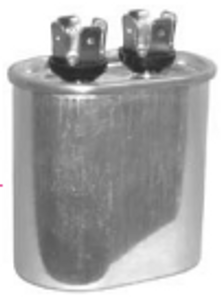 5mfd/370-440v Oval Run Capacitor