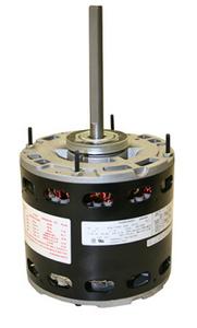 EM3586 - Century 1/3 HP Fan & Blower Motor, 1075 RPM, 3 Speed, 208-230 Volts, 48 Frame