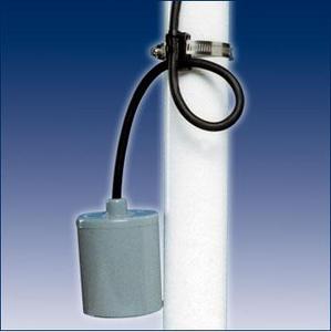SJE Rhombus Piggyback Pump Float Switch 115v
