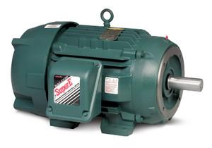 CECP3660T - 3HP, 3500RPM, 3PH, 60HZ, 182TC, 0628M, TEFC, F1