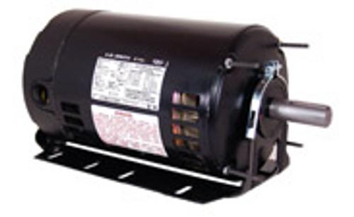 BK3074V1 - 3/4 HP Fan and Blower HVAC/R Motor, 3 phase, 1800 RPM, 208-230/460 V, 56H Frame, ODP
