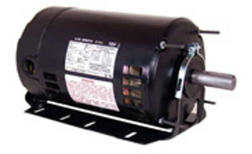 RB3104A - 1 HP Fan and Blower HVAC/R Motor, 3 phase, 1800 RPM, 208-230/460 V, 56H Frame, ODP