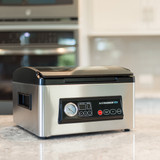Avid Armor low profile stainless steel chamber vacuum sealer for home kitchen
