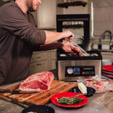 The Avid Armor USV32 chamber vacuum sealer is the perfect complement to your home kitchen.