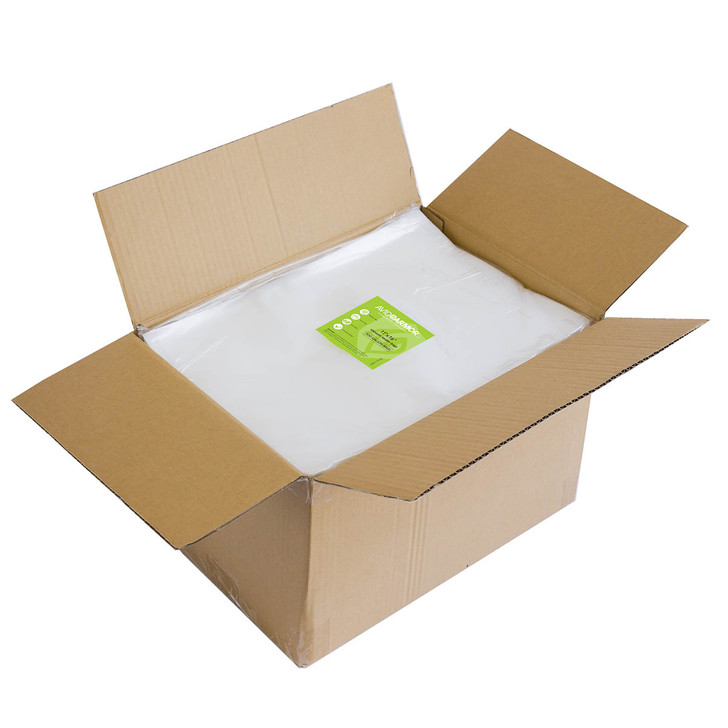 Buy in bulk and save on Gallon size 11x16 vacuum sealer bags for food saver machines
