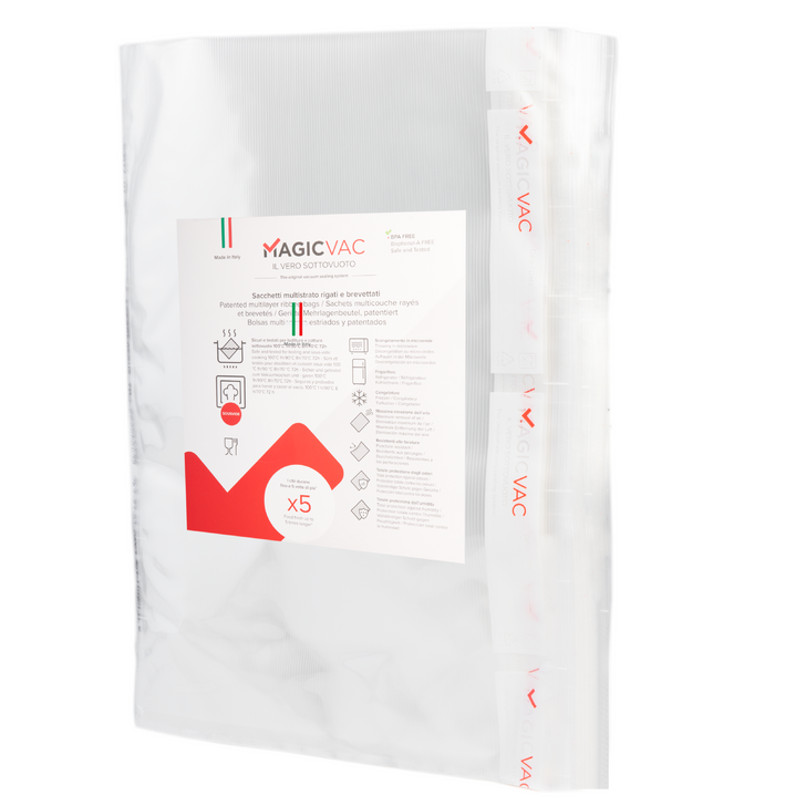 "Magic Vac® 12"" x 16"" (30cm x 40cm) Gallon Bags- 50 Count"