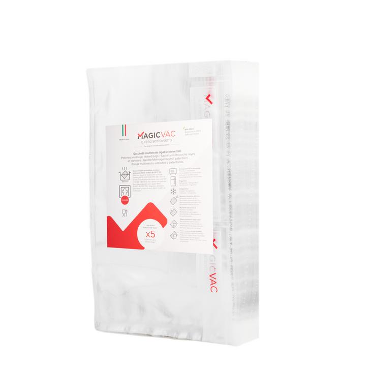 """Magic Vac® 8"""" x 12"""" (20cm x 30cm) Quart Bags - 100 Count"""