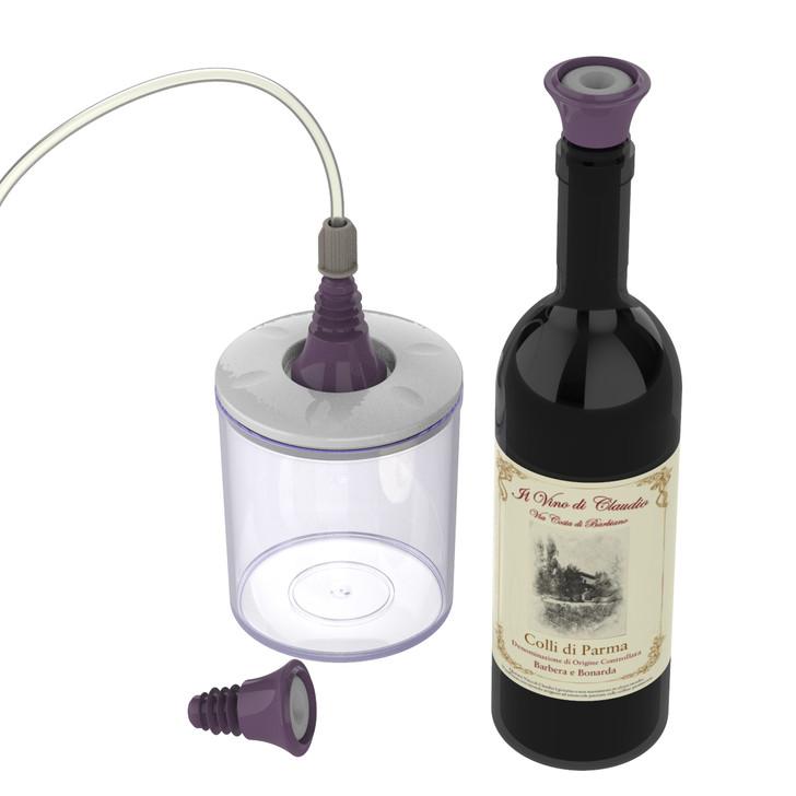 Magic Vac® Vacuum Wine Bottle Stopper - 2 pack