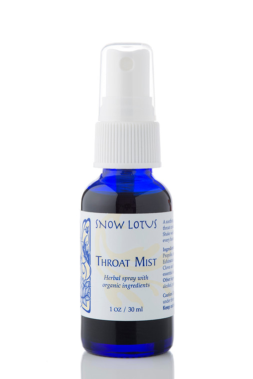 Throat Mist – Herbal Spray 30 ml/1 oz