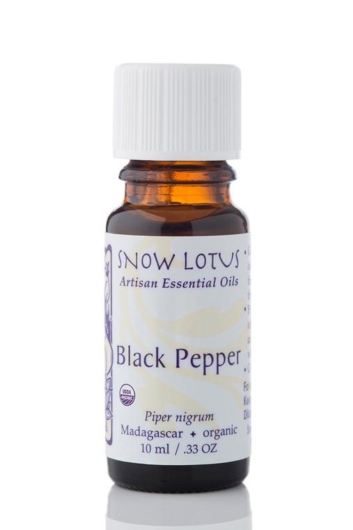 Black Pepper Essential Oil - Organic