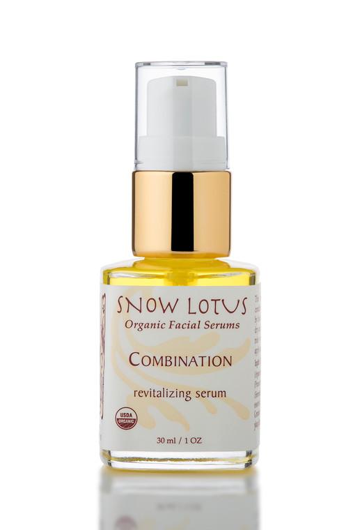 Combination Skin Revitalizing Organic Facial Serum 30 ml/1 oz