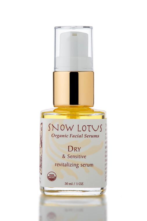 Dry & Sensitive Skin Revitalizing Organic Facial Serum 30 ml/1 oz