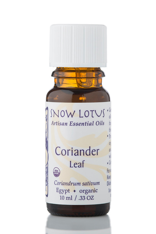 Coriander Leaf Essential Oil - Organic