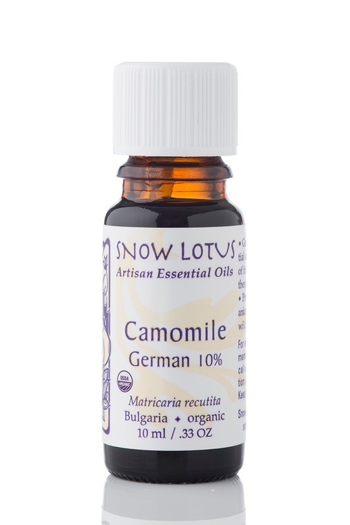 Camomile, German Essential Oil 10% in Jojoba - Organic