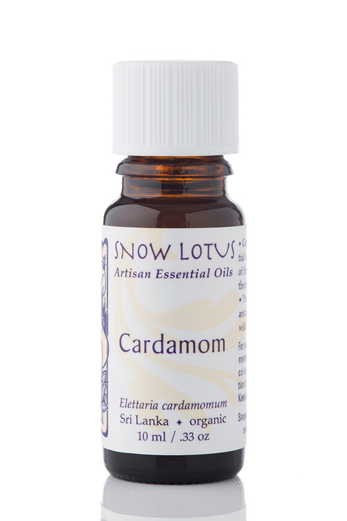 Cardamom Essential Oil - Organic