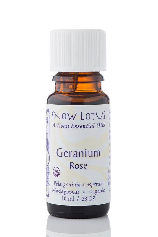 Geranium, Rose Essential Oil - Organic