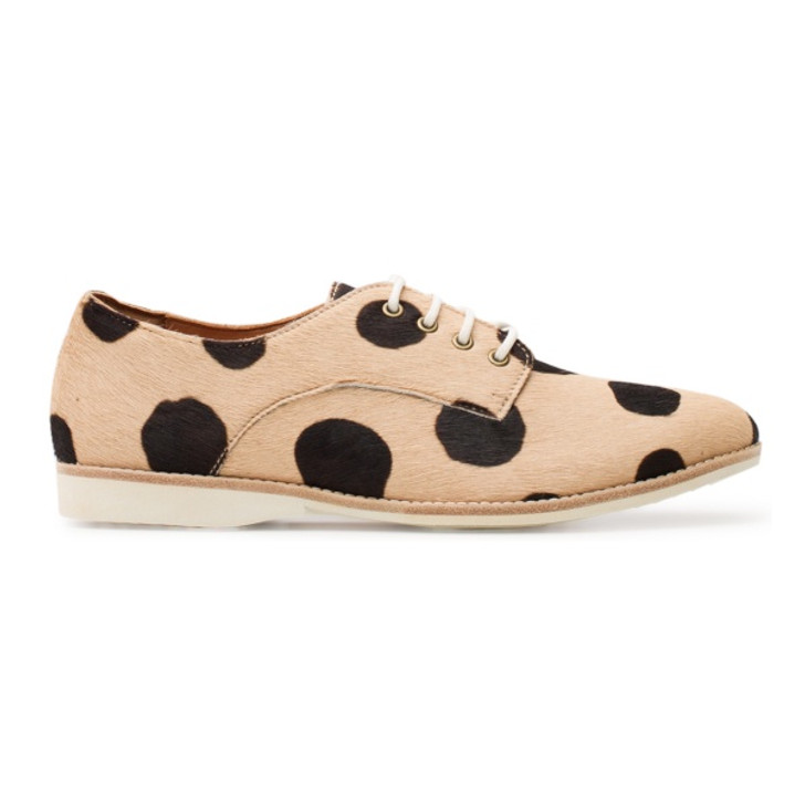 Derby - Beige Black Spot