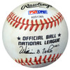 Sandy Amoros Autographed Official NL Baseball Dodgers PSA/DNA #AB51365
