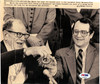 Bill Veeck Autographed 7.5x9 Magazine Page Photo Chicago White Sox PSA/DNA #AB50524