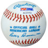 Tom Ferrick Autographed Official AL Baseball Yankees PSA/DNA #AC23152