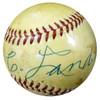 "Grover Land Autographed Official AL Harridge Baseball ""To My Friend Jim"" Vintage Beckett BAS #B26658"