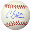 Carson Smith Autographed Official MLB Baseball Boston Red Sox MCS Holo #18814