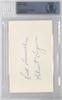 Rick Ferrell Autographed 3x5 Index Card Detroit Tigers Beckett BAS #10002697