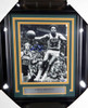 Fred Brown Autographed Framed 8x10 Photo Seattle Sonics MCS Holo Stock #126584
