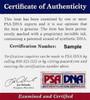 Jean Cruguet Autographed 16x20 Photo Seattle Slew PSA/DNA Stock #18015