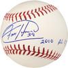 "Felix Hernandez Autographed Official MLB Baseball Seattle Mariners ""2010 AL CY"" PSA/DNA Stock #28189"