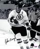 John Bucyk Autographed 8x10 Photo Boston Bruins PSA/DNA #L64923