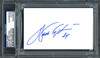 Walter Payton Autographed 3x5 Index Card Chicago Bears PSA/DNA Stock #64590
