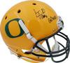 "LaMichael James Autographed Oregon Ducks Yellow Full Size Helmet ""Go Ducks"" PSA/DNA Stock #72895"
