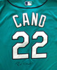 Seattle Mariners Robinson Cano Autographed Teal Authentic Majestic Cool Base Jersey Size 48 PSA/DNA ITP Stock #78180