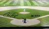 "Felix Hernandez Autographed Framed 20x30 Canvas Photo Seattle Mariners ""PG 8-15-12"" #/34 MCS Holo Stock #94467"