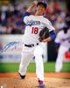 Kenta Maeda Autographed 16x20 Photo Los Angeles Dodgers MLB Holo Stock #104877