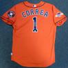 Houston Astros Carlos Correa Autographed Authentic Majestic Orange Jersey Size 48 2015 Postseason Patch MLB Holo Stock #104883