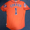 Houston Astros Carlos Correa Autographed Authentic Majestic Orange Jersey Size 48 2015 50th Anniversary Patch MLB Holo Stock #104890
