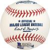 Kazuhiro Sasaki Autographed Official MLB Baseball Seattle Mariners English & Kanji In Staedtler Beckett BAS Stock #115093