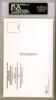Gary Carter Autographed HOF Plaque Postcard PSA/DNA Stock #118187