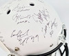 Heisman Trophy Winners Autographed Full Size White Matte Helmet With 24 Signatures Including Barry Sanders, Bo Jackson & Marcus Mariota Steiner Holo Stock #121615